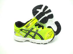 NEW Asics Toddler GT-1000 3 TS Running Shoes Yellow/Black Si