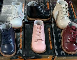 New Unisex Baby Toddler First Leather Walking Shoes 6 Assort
