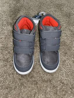 New With Tags Carters Toddler Boys Shoes Size 9 Gray Boots
