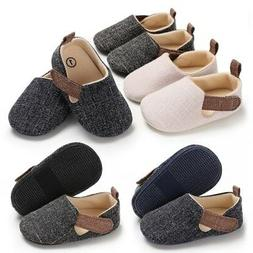 Newborn Infant Baby Kids Shoes Toddler Boy Soft Sole Crib Sh