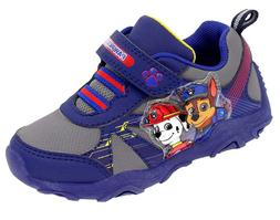 PAW Patrol Light Up Sneakers Toddler Boys shoes size 7 navy