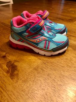 Saucony Ride 7 Toddler Girl Shoes size 5w