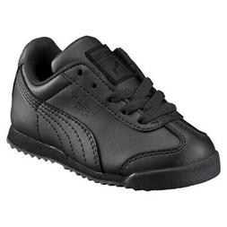 Puma Roma Basic 35426012 Black Infant Toddler Little Girls B