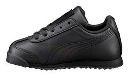 PUMA Roma Basic Black, Black Toddler Kids Sneakers Tennis Sh