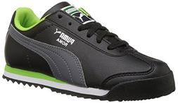 PUMA Roma Basic Kids Sneaker  , Black/Steel Gray, 5 M US Tod