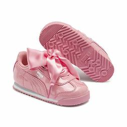 PUMA Roma Heart Patent Toddler Shoes Girls Shoe Kids