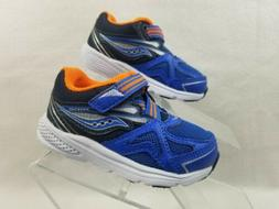 Saucony Shoes Baby Ride Boys Toddler Size 5.5 Extra Wide Blu