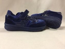 Saucony Shoes Baby Toddlers Girls Size 7M Navy UK 6, Eur 23
