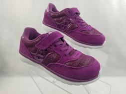 Saucony Shoes Kids Girls Toddler Size 9.5 Wide Purple Sneake