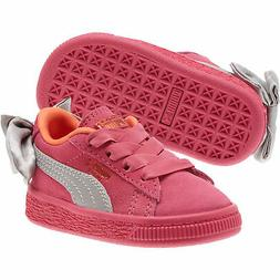 PUMA Suede Bow Toddler Shoes Kids Shoe Kids