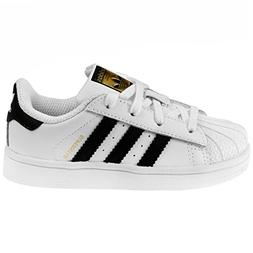 adidas Originals Superstar I Basketball Fashion Sneaker ,Whi