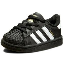 Adidas Superstar I BB9078 Black White Infant Toddler Baby Gi
