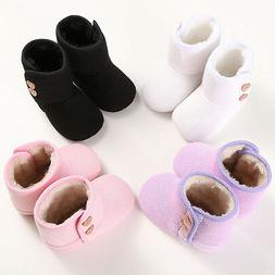 Toddler Baby Boys Girls Toddler Warm Winter Boots Soft Sole