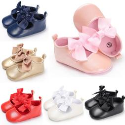 Toddler Baby Girls PU Hook/&Loop Fasteners Dress Shoes Casual Sandals Size 8.5-11