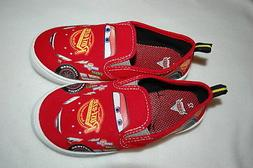 Toddler Boys Shoes LIGHTNING McQUEEN Red Canvas DISNEY CARS