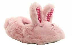 Stride Rite Toddler Girl's Pink Fuzzy Bunny Slippers Shoes