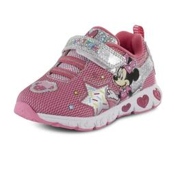 Toddler Girls' Minnie Mouse Light-Up Sneaker Shoes, size: 6