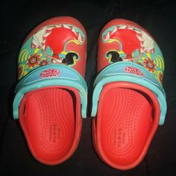 Toddler Girl's CROCS Shoes Size 6