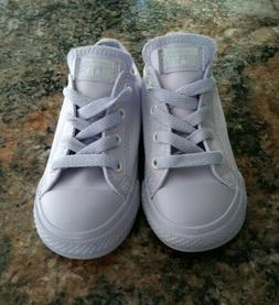 Toddler Girls Converse Shoes Size 8, Purple