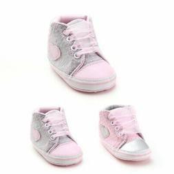 Toddler Infant Baby Kid Boy Girl Soft Sole Crib Shoes Sneake