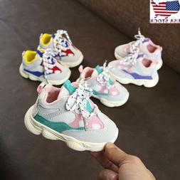 Toddler Kid Fashion Sport Running Sneakers Baby Shoes Boys G