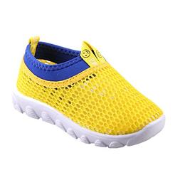 CIOR Toddler Kids Water Shoes Breathable Mesh Running Sneake