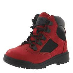 Timberland Toddler Shoes 6 Inch Field Red Size 7 Baby Boots