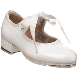 Bloch Youth Annie Tyette Tap Shoe, White-10.5 M Tod